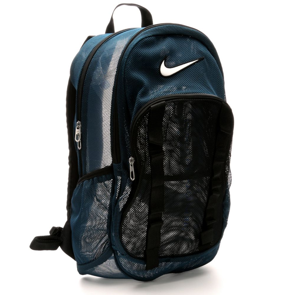 nike brasilia 7 mesh backpack large dark green rack. Black Bedroom Furniture Sets. Home Design Ideas