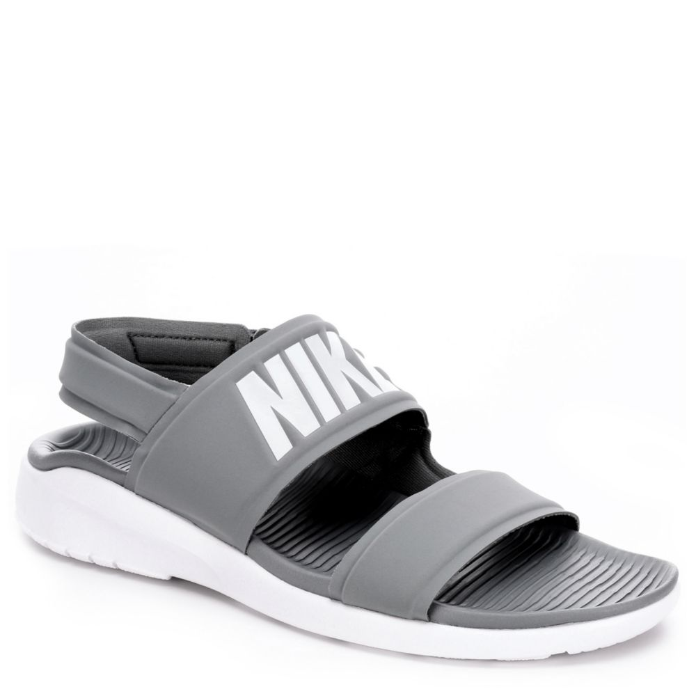 nike tanjun women 39 s sandal grey off broadway shoes. Black Bedroom Furniture Sets. Home Design Ideas