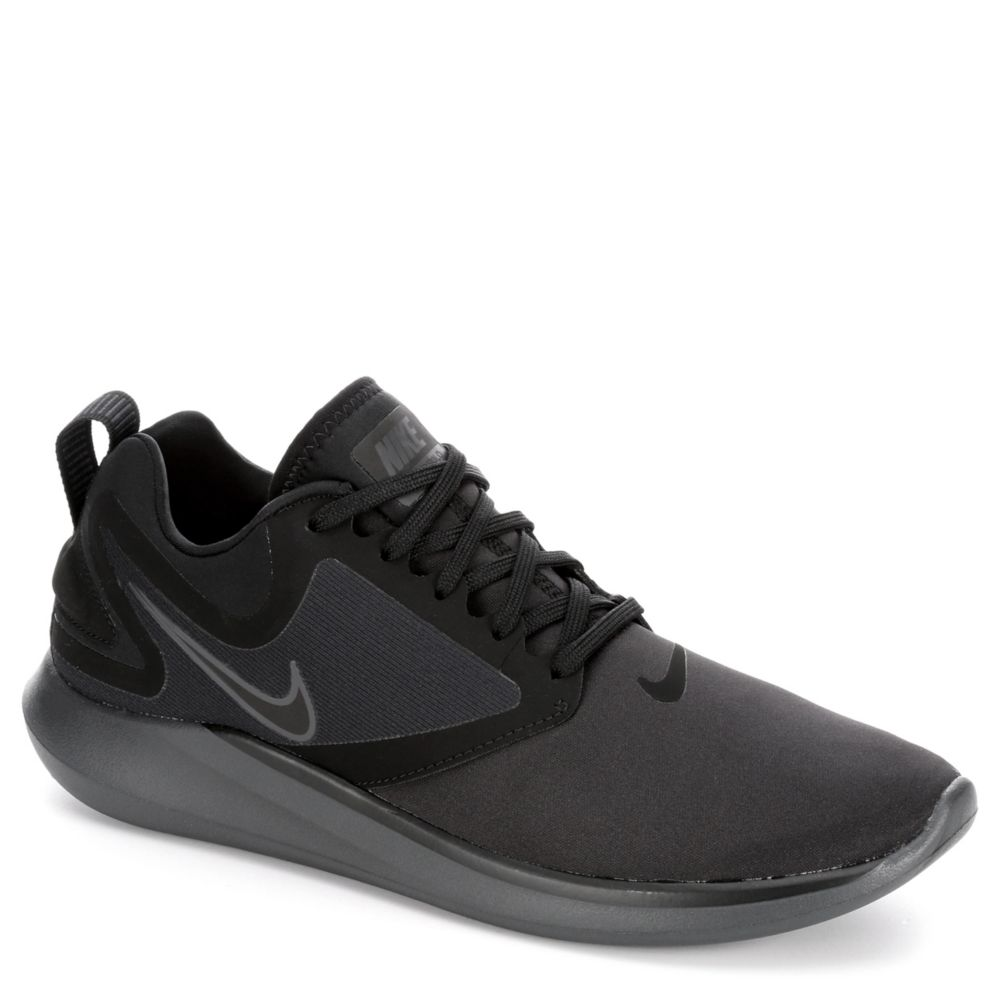 nike lunar solo men 39 s sneaker black off broadway shoes. Black Bedroom Furniture Sets. Home Design Ideas