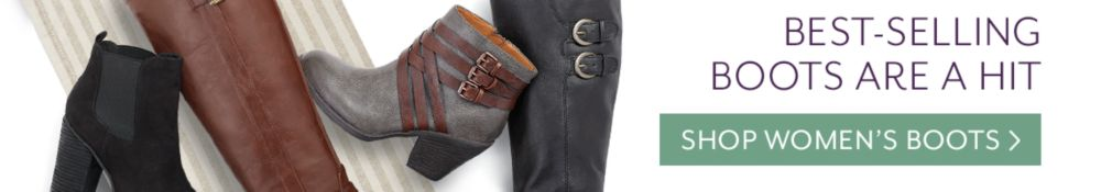 shop best selling women's boots