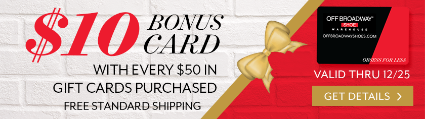 $10 Bonus Card with Every $50 in Gift Cards Purchased