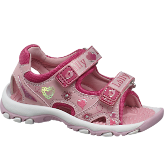 Sandály na suchý zip od Bobbi-Shoes