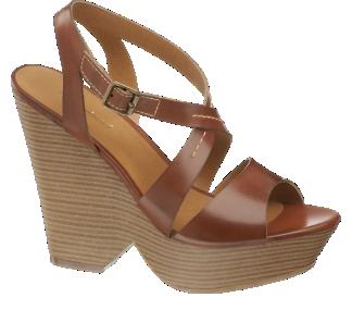 Sandály na podpatku od Graceland