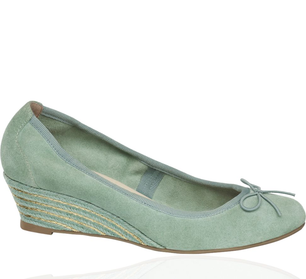 Wedge Court with Bow, Mint