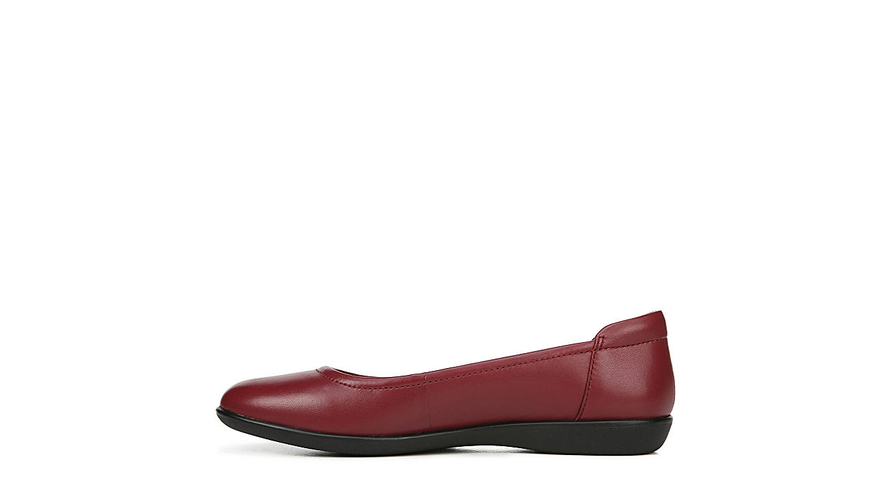 NATURALIZER Womens Flexy Flat - RED