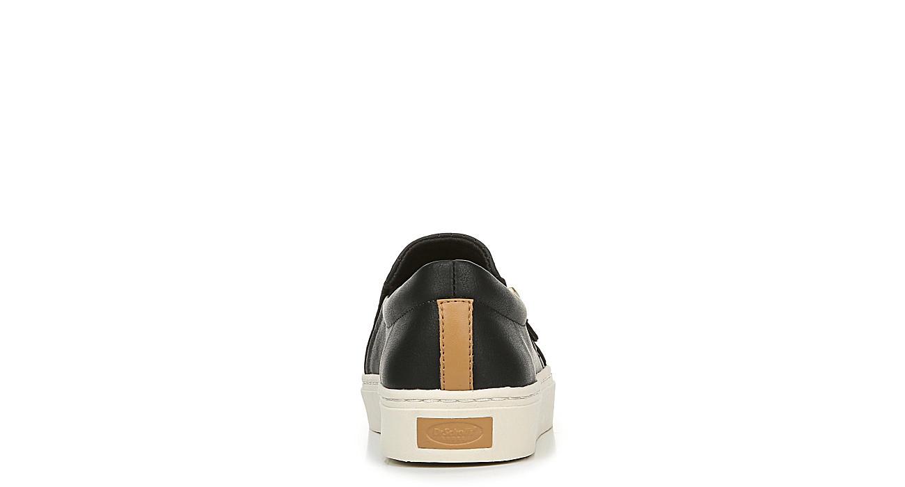 DR. SCHOLL'S Womens No Chill Slip On Sneaker - BLACK