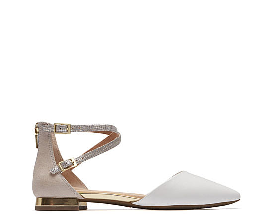 Womens Total Motion Zuly Luxe Ankle Flat