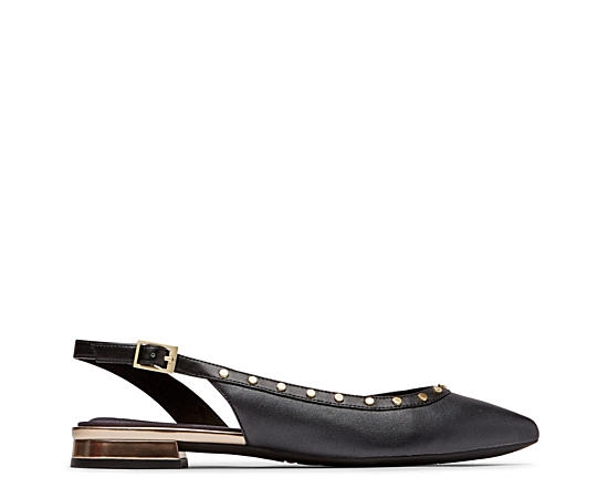 Womens Total Motion Zuly Stud Sling Flat