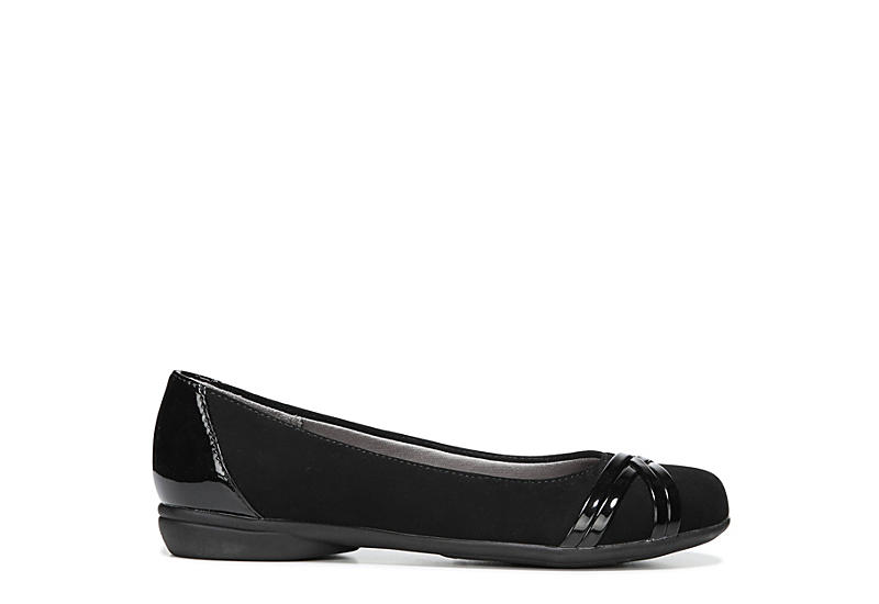 LIFESTRIDE Womens Aliza Casual Flat - BLACK