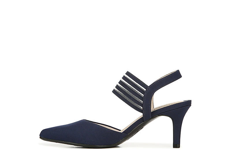 LIFESTRIDE Womens Sanya Dress Heel - NAVY