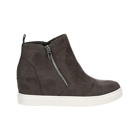Womens Piper Slip On Wedge Sneaker