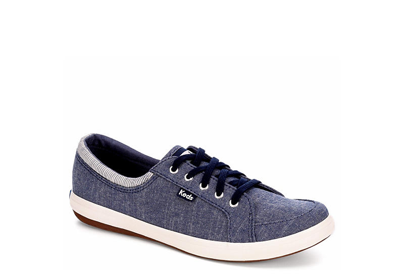 Keds Women's Tour Chambray Lace-Up Fashion Sneakers Women's Shoes