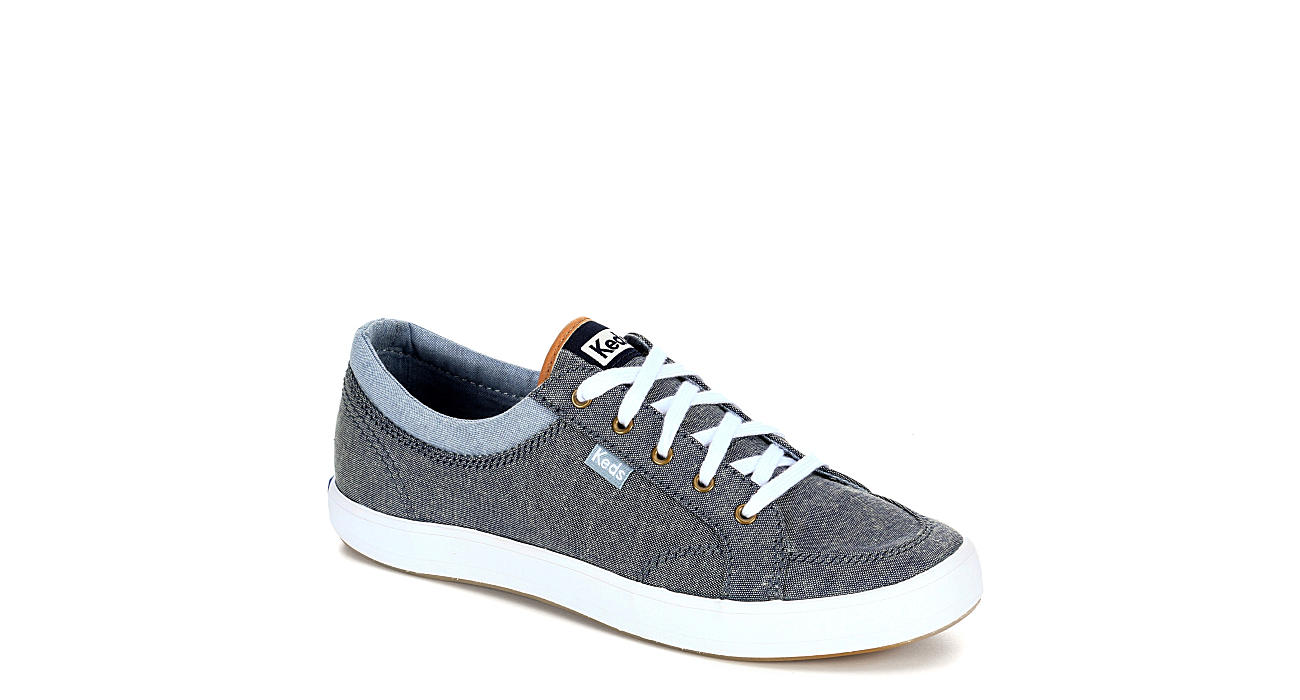 90baedd84c5a Blue/Grey Keds Center Women's Canvas Sneakers | Rack Room Shoes