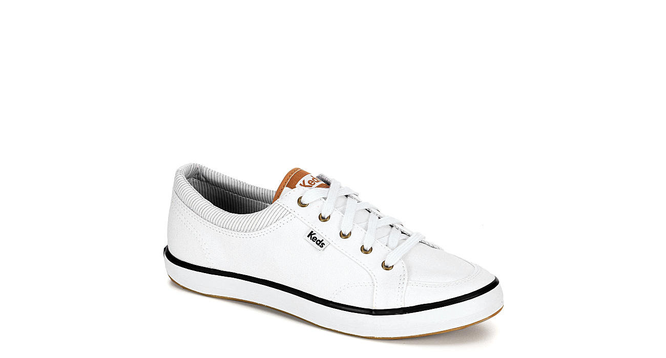 KEDS Womens Center Sneaker - WHITE