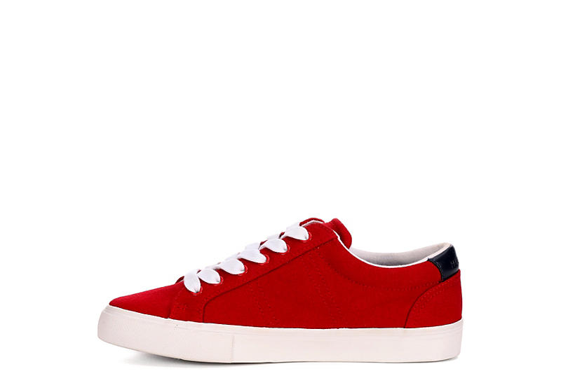 TOMMY HILFIGER Womens Paskal Sneaker - RED