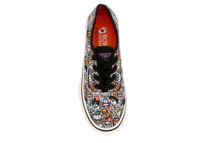 SKECHERS BOBS Womens Marley Meow Ages - MULTICOLOR