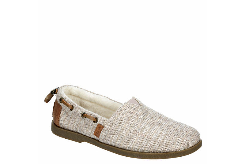 NATURAL SKECHERS BOBS Womens Chill Luxe Winter Buzz