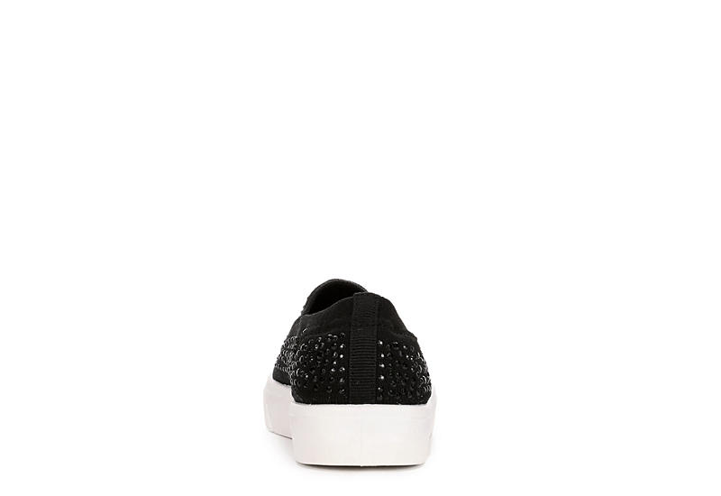 SKECHERS Womens Poppy Studded Affair - BLACK