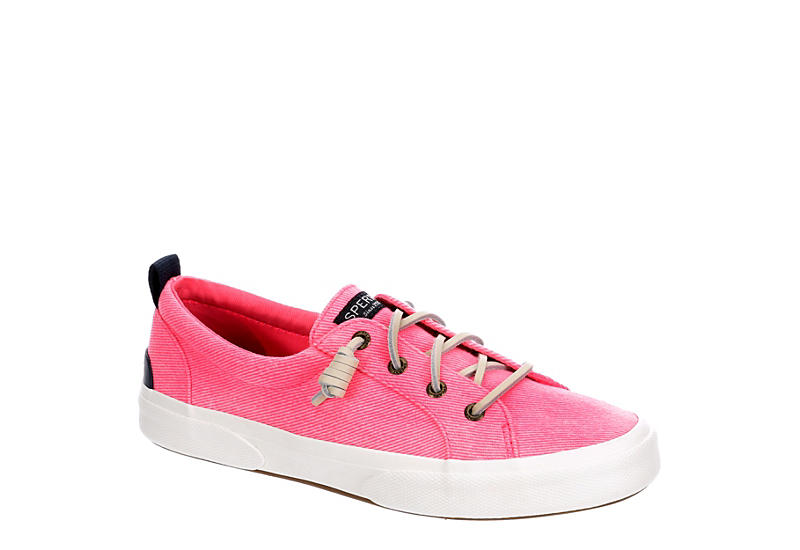 SPERRY Womens Pier Wave Slip On Sneaker - PINK