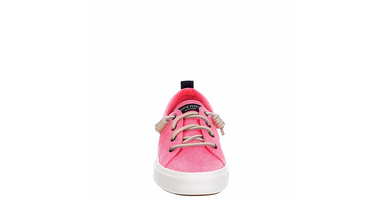 SPERRY Womens Pier Wave Slip On Sneaker - PINK