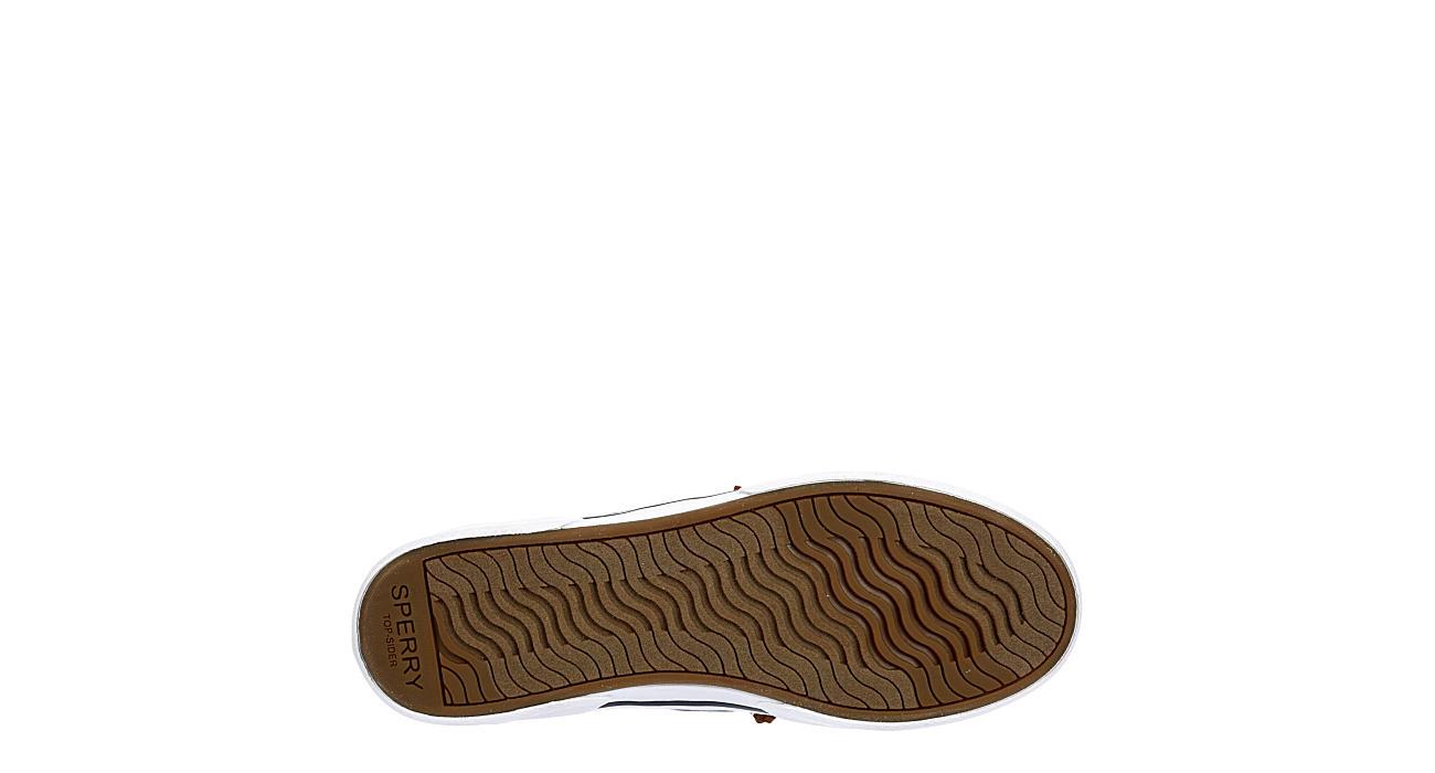 SPERRY Womens Pier Wave Slip On Sneaker - PLAID