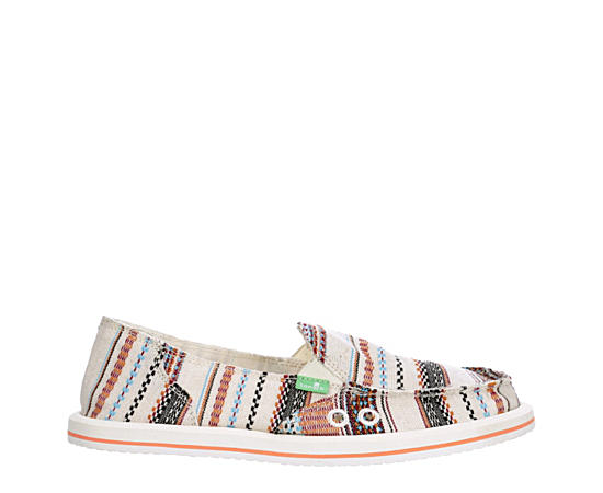 Womens Donna Tribal Flat