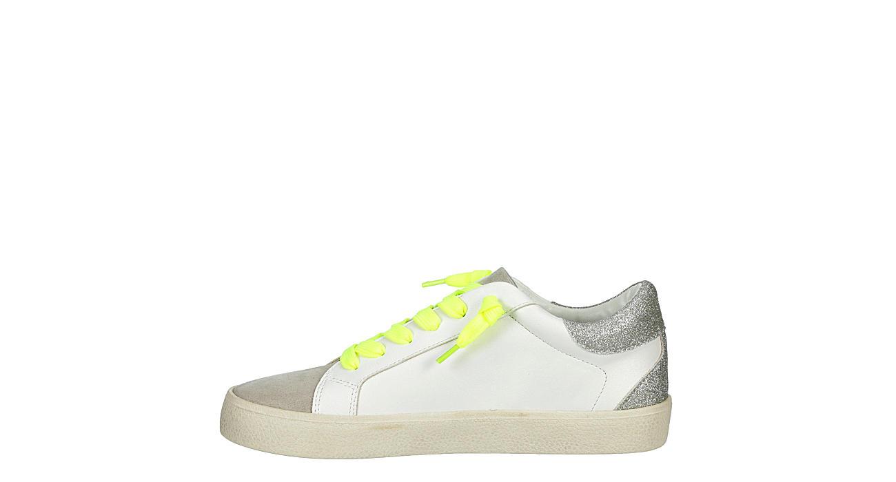 MADDEN GIRL Womens Linlee Slip On Sneaker - WHITE