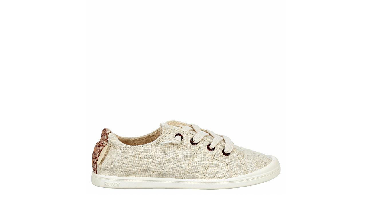 ROXY Womens Bayshore Slip On Sneaker - TAN