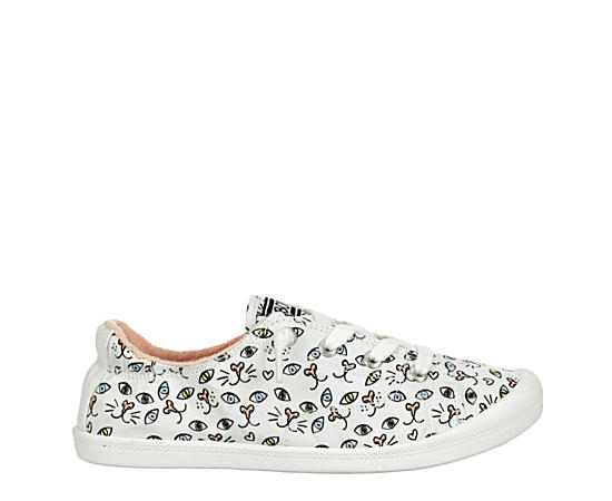Womens Painter Paws Slip On Sneaker