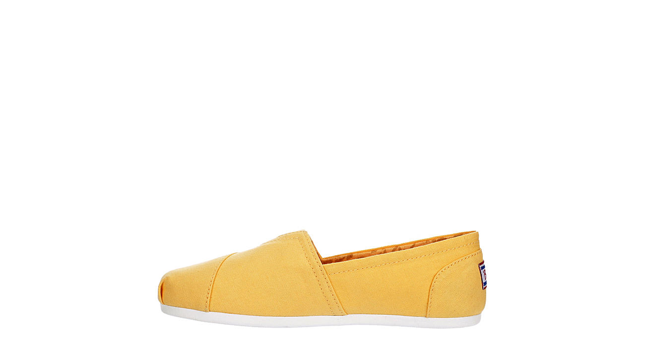 SKECHERS BOBS Womens Peace And Love Flat - YELLOW