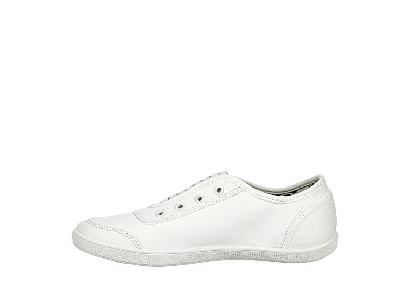 SKECHERS BOBS Womens Walkaways Slip On Sneaker - WHITE