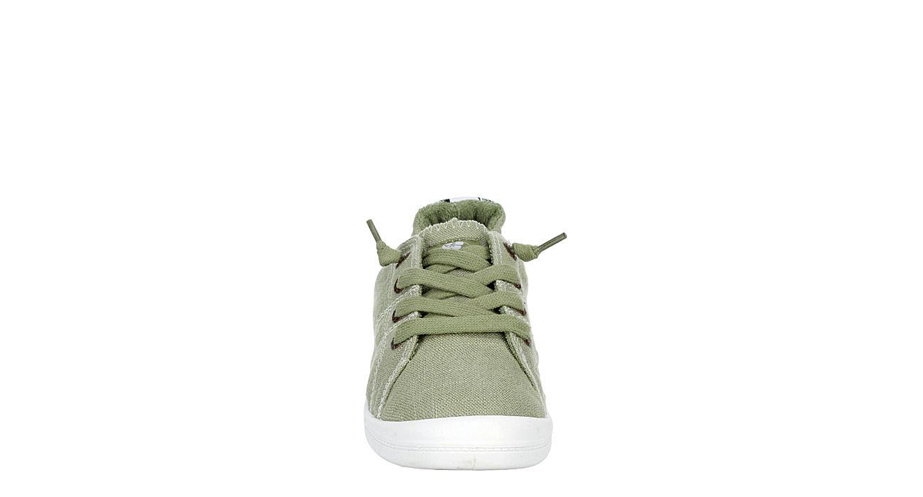 ROXY Womens Bayshore Slip On Sneaker - OLIVE