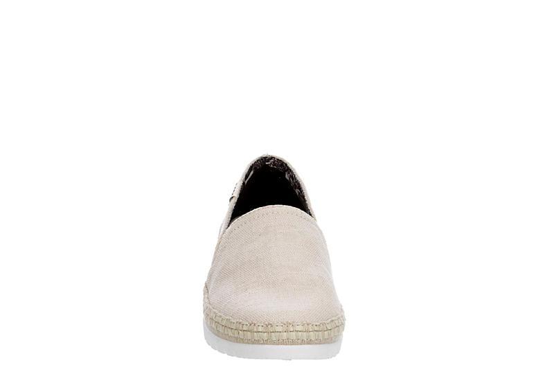 SKECHERS BOBS Womens Flexpadrille 3.0 Dark Horse Slip On Sneaker - NATURAL