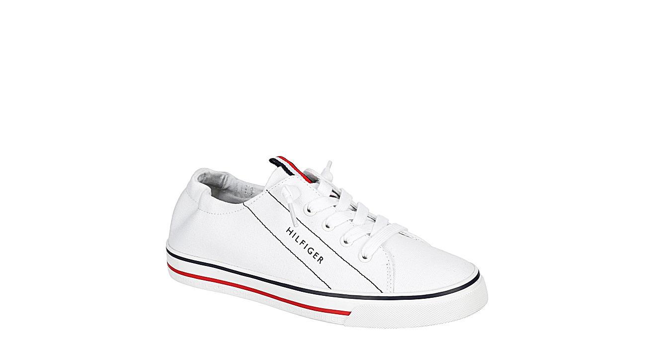 TOMMY HILFIGER Womens Olisia Slip On Sneaker - WHITE