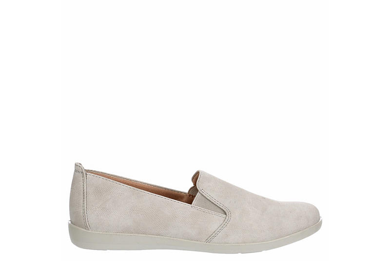 LIFESTRIDE Womens Neon Slip On Sneaker - PALE GREY