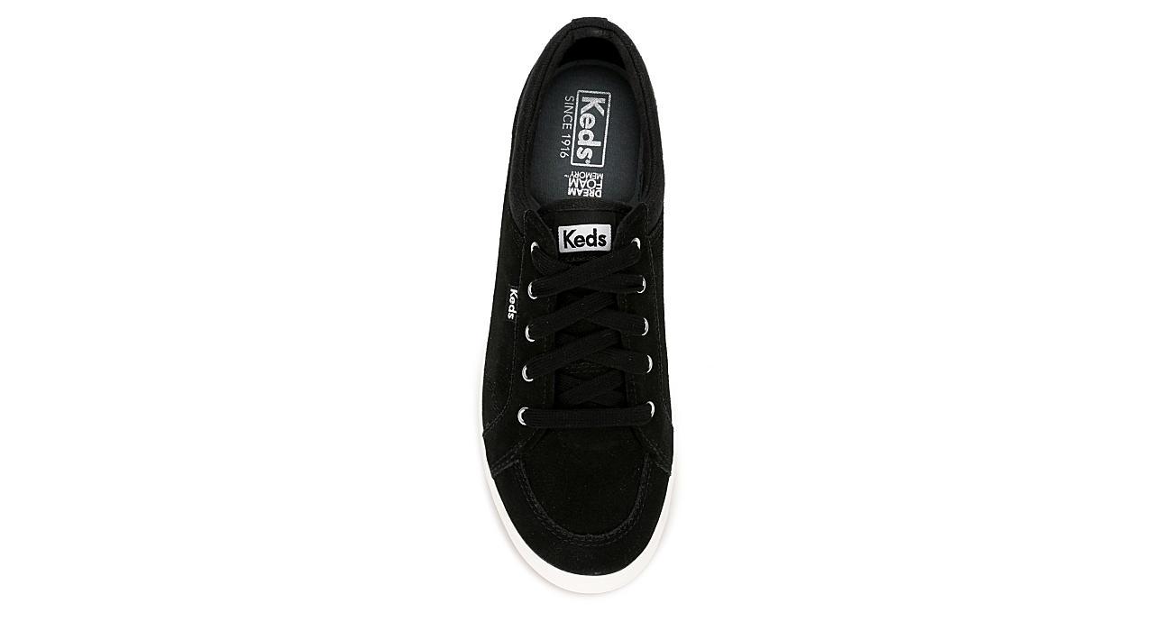 KEDS Womens Center Sneaker - BLACK