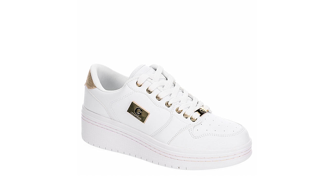 GBG Los Angeles Womens Rigster Sneaker - WHITE