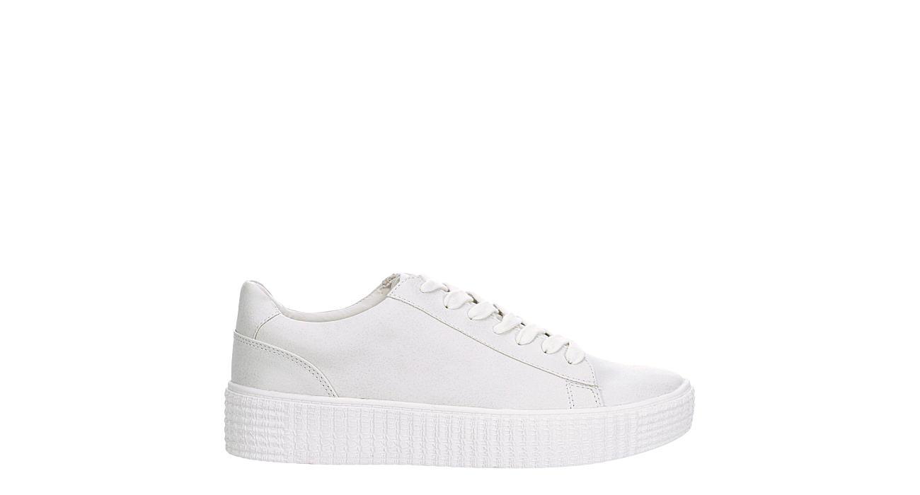 STEVE MADDEN Womens Oleta Sneaker - OFF WHITE