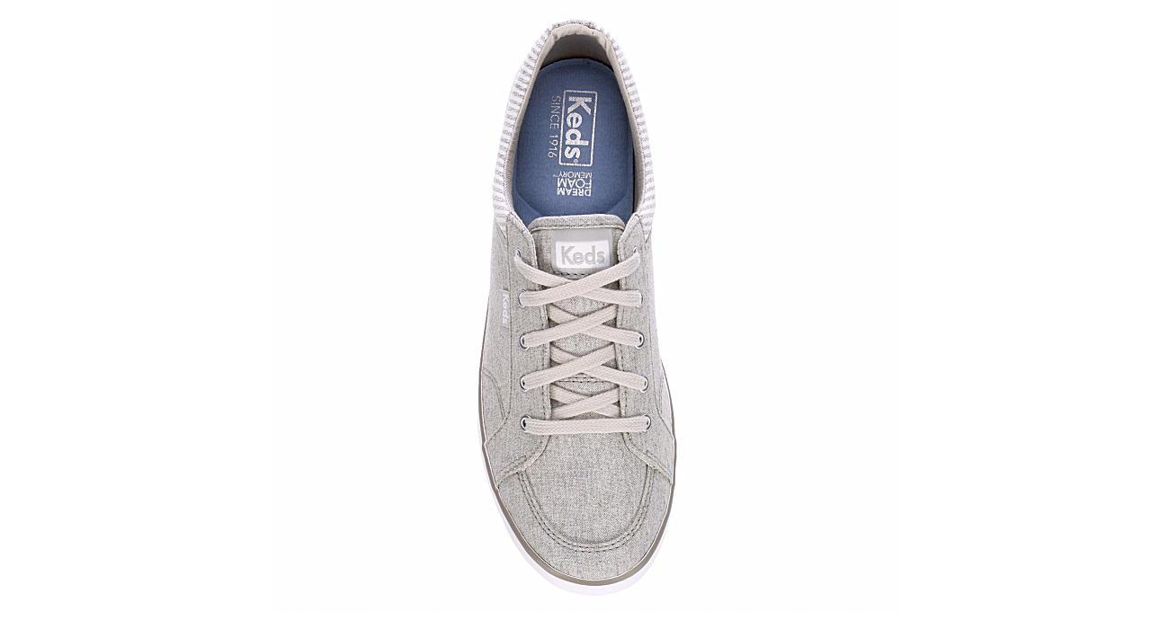 KEDS Womens Center Sneaker - PALE GREY