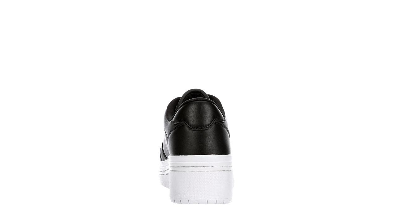 GBG Los Angeles Womens Rigster Platform Sneaker - BLACK