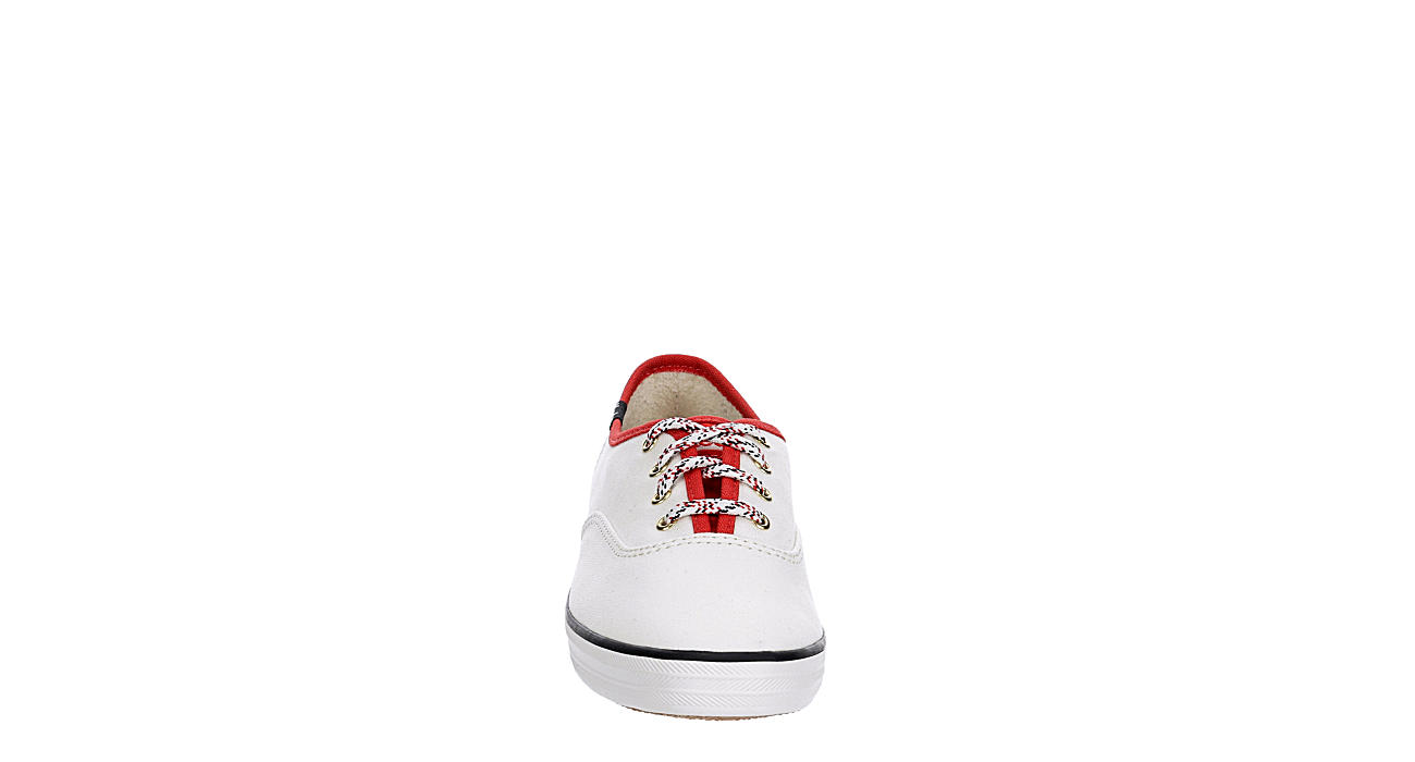KEDS Womens Champion Canvas Sneaker - WHITE