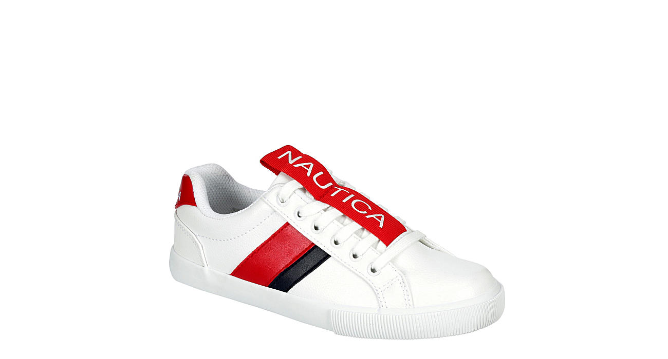 NAUTICA Womens Steam Tape Sneaker - WHITE