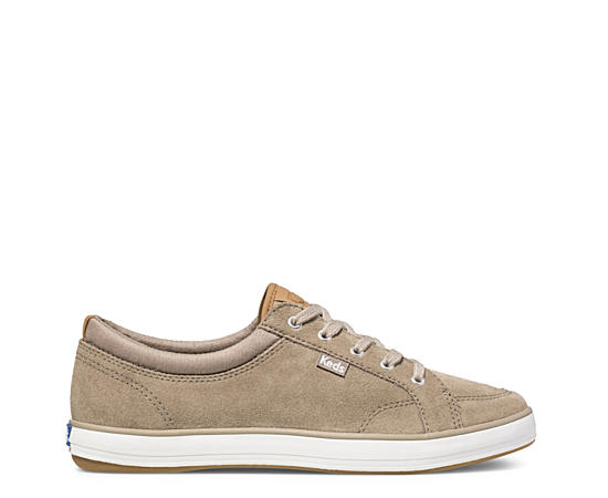 Womens Center Suede Sneaker