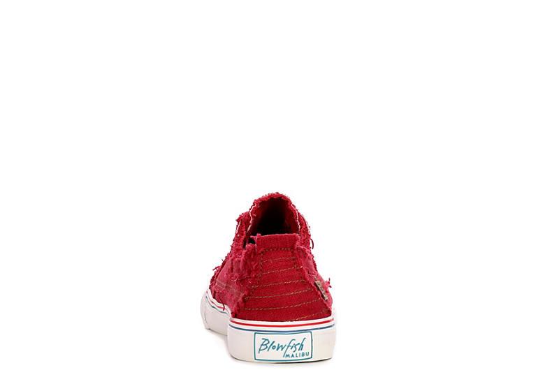 BLOWFISH Womens Play Slip On Sneaker - RED