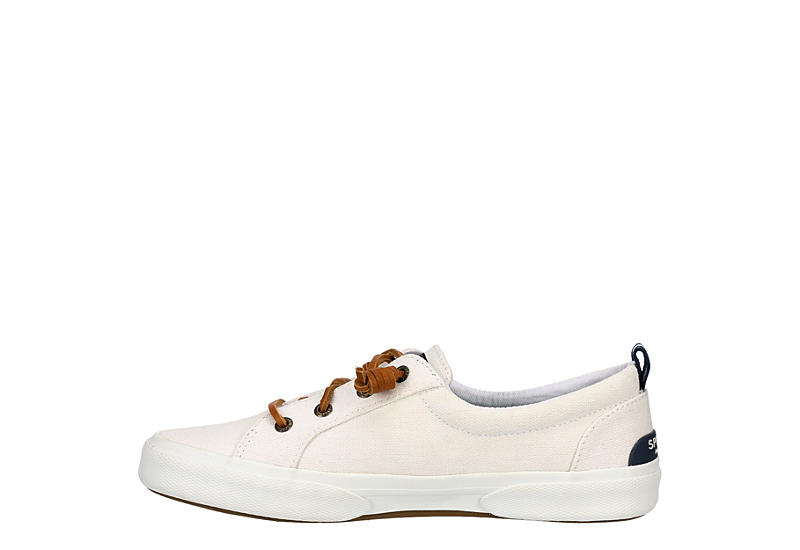SPERRY Womens Pier Wave Slip On Sneaker - WHITE