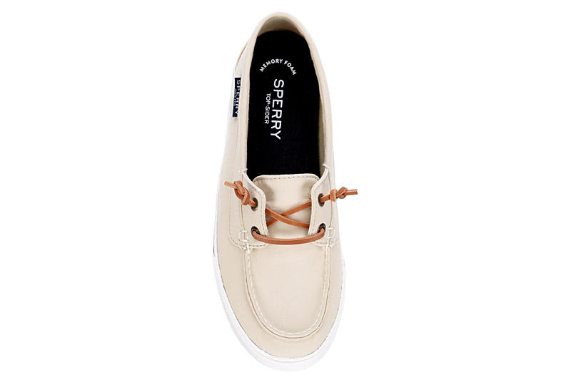 SPERRY Womens Lounge Away Boat Shoe - SAND