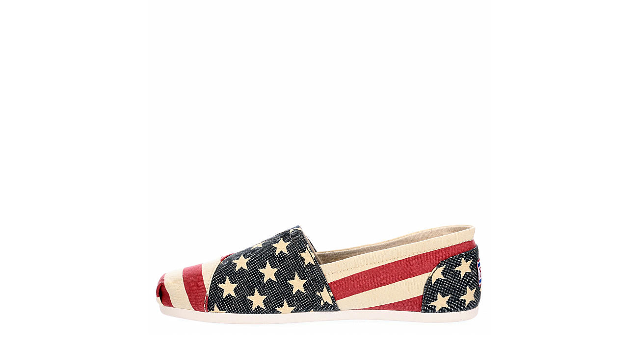 SKECHERS BOBS Womens Lil Americana - RED