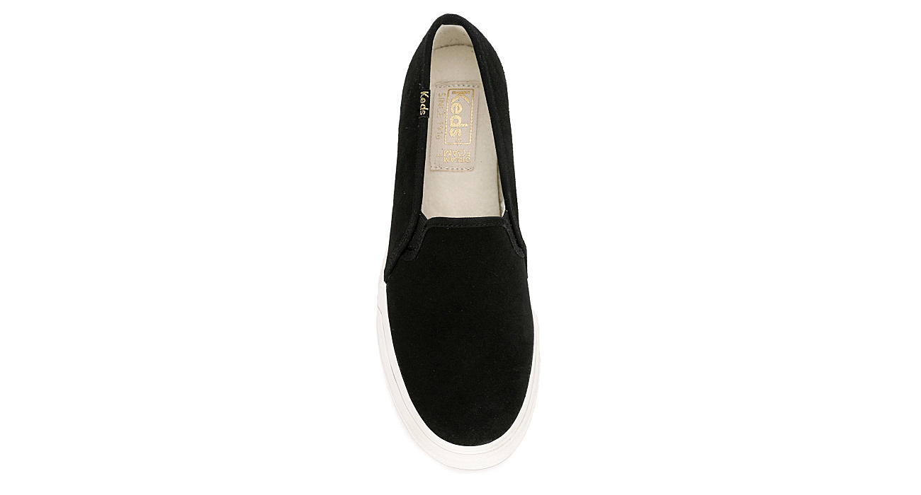 KEDS Womens Double Decker - BLACK
