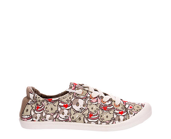 Womens Evie  Riley Slip On Sneaker
