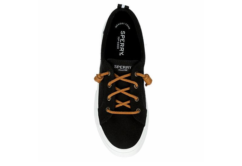 SPERRY Womens Pier Wave Slip On Sneaker - BLACK
